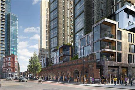 Bishopsgate Goodsyard: GLA planners recommend refusal (pic Hammerson PLC and Ballymore)