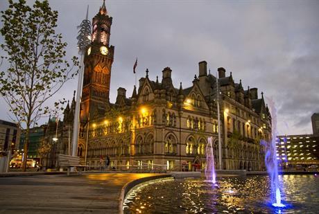 Bradford City Hall. Image by Tom Blackwell, Flickr
