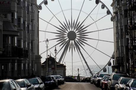 Brighton Wheel: new zip wire scheme will occupy site of former tourist attraction