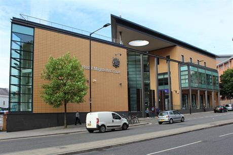 Bristol Magistrates Court (pic: Richard Hoare, Geograph)