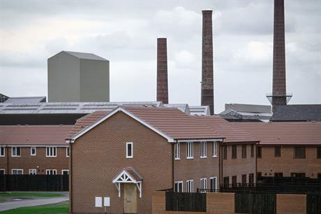 Brownfield: fall in proportion of previously-used land used for new housing (pic: Getty Images)