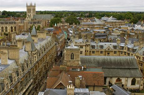 Cambridge: report backs strategic plan for region