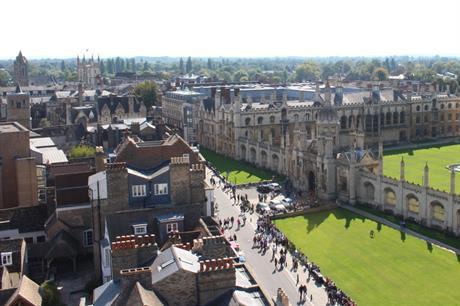 Cambridge (pic: Douglas Pfeiffer Car)