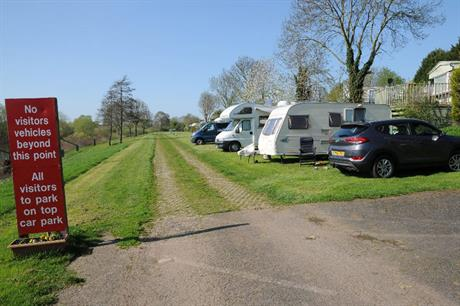 Caravan parks: planning restrictions eased (pic: © Philip Halling - geograph.org.uk/p/5754903)