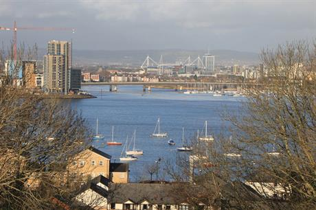 Cardiff: household projections for the region suggest a fall in the working age population of more than six per cent