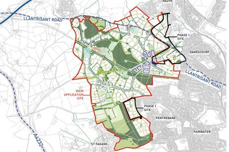 Plasdŵr: scheme could see 7,000 homes built