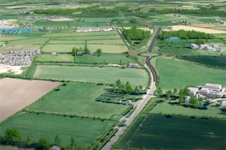 A still from Cumbria County Council's video visualising the scheme (https://www.youtube.com/watch?v=bxiAmLA2FsM)