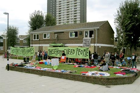 Carpenters Estate: area has been focus of housing protests (pic: danstowell via Flickr)