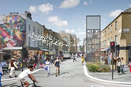 Church Street: masterplan proposes 1,700 new homes