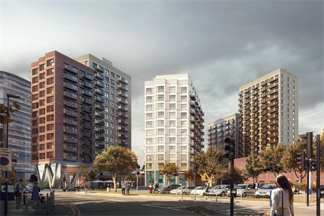 A visualisation of the proposed redevelopment (Pic: L&Q)