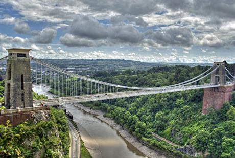 Clifton suspension bridge, Bristol. Image by Nic Trott, Flickr