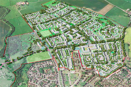 The proposed Clotherholme development (Pic: Homes England)