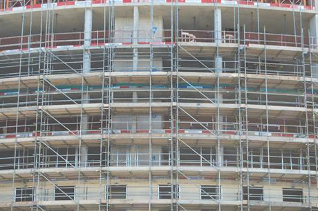 Construction: permissions slow to translate into work starts