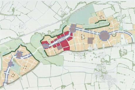 A masterplan visualisation of the finished development (pic: David Lock Associates)