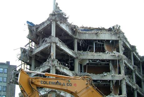 Potential demolition hotspots revealed. Image by Andrew Skudder, Flickr
