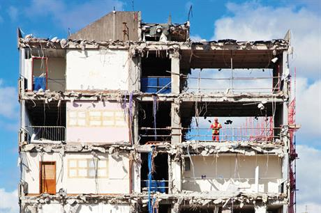 Demolition: government announces policy change