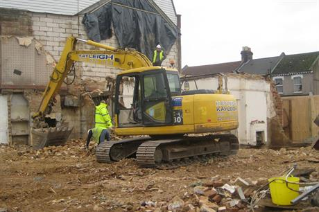 Demolitions: new PD right on the way (Pic: Andy Roberts, Flickr)