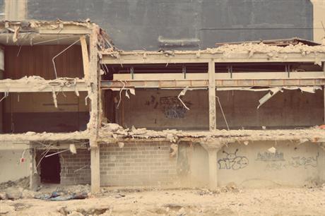 Demolition (pic: Arvell Dorsey Jr, Flickr)