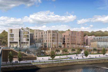 Milburngate: development would contain no affordable homes