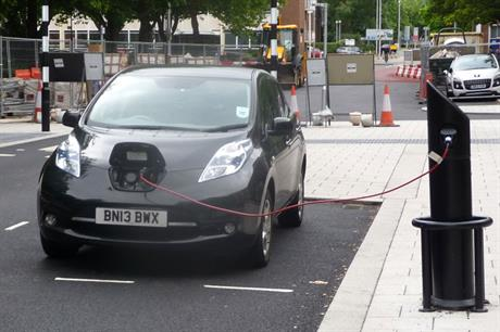 Electric cars: planning changes proposed to boost take-up