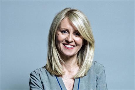 Housing minister Esther McVey