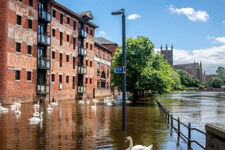 Recent flooding in Worcester (Tony Armstrong Slyvia via Flickr)