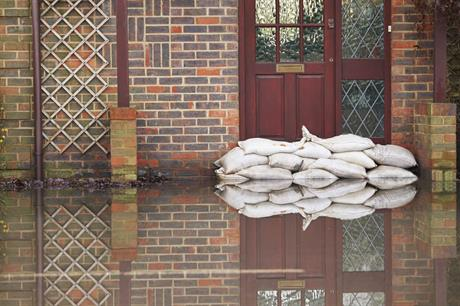 Flooding: around 24,000 homes were built in high flood risk areas in England in 2016/17 (Pic: Getty)