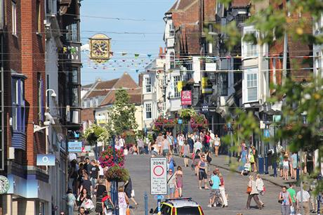 Guildford: meeting next week to consider local plan submission (picture: Tim Sheerman-Chase, Flickr)