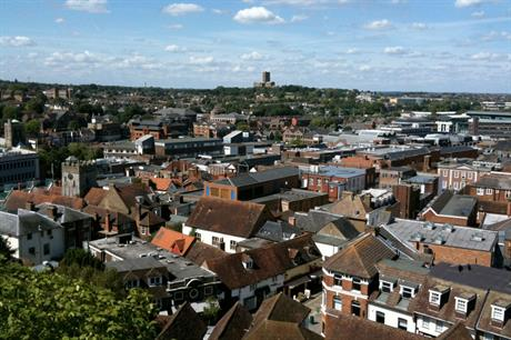 Guildford: planning chief has stepped down (picture by Charlotte Gilhooly)