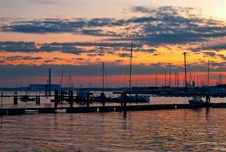 Hamble Estuary, Fareham. Image by Anguskirk, Flickr