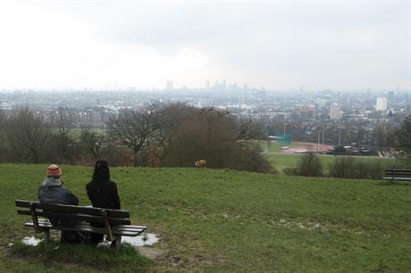 Hampstead Heath: created before creation of current system in 1947