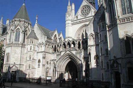 London's Royal Courts of Justice: Heathrow challenge opens