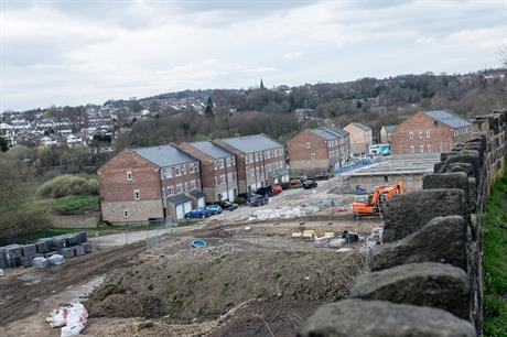 Housebuilding in Leeds. Pic: Getty Images