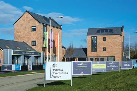 New homes: report suggests new statement of purpose could shift HCA focus