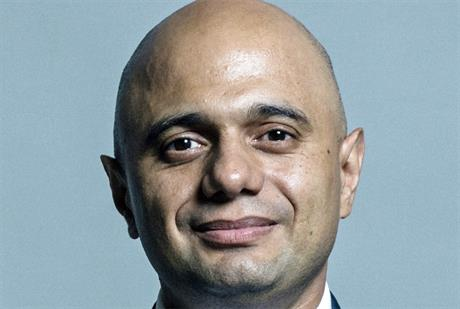 Chancellor and former communtiies secretary Sajid Javid. Image by House of Commons Library