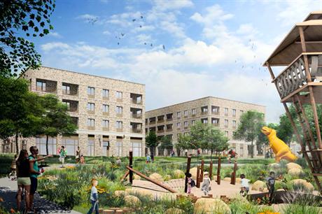 The proposed scheme (Pic: HTA Design)