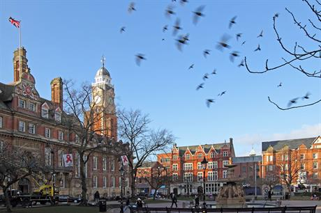 Leicester: city council is one of the partners behind the plan