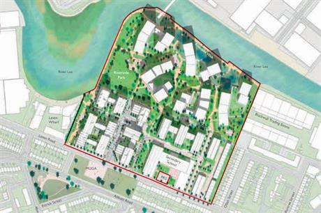A masterplan visualisation of the finished development (pic: St. Williams Homes)
