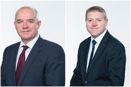 John Cottrell (left) and Matthew Spry (Pic: Lichfields)