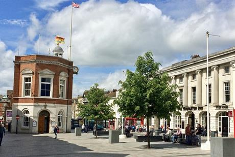 Maidstone in Kent. Image by Dr Bob Hall, Flickr
