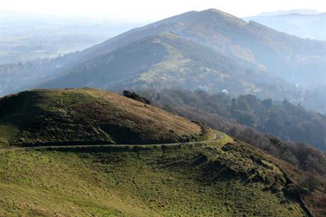 The Malvern Hills (pic:  Mike Finn, Flickr)