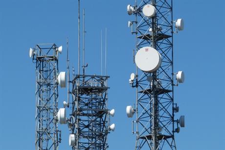 Mobile phone masts - image: pxfuel