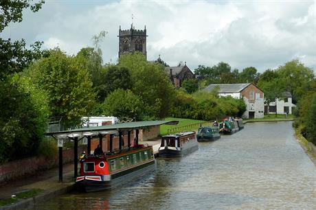 Middlewich, Cheshire (pic Roger Kidd via Geograph)