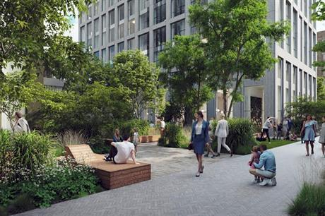 A visualisation of the completed scheme (pic: Moda Living/Apache Capital Partners)
