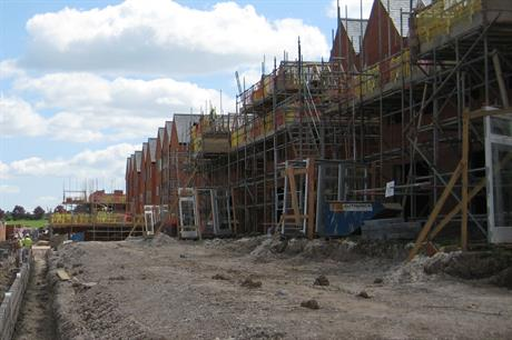 New homes: series of government announces made today on boosting delivery
