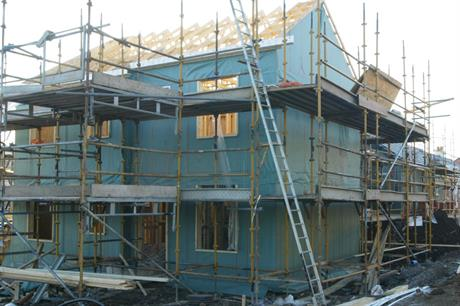 Housebuilding: effect of revised energy efficiency standards not yet clear. Photo: Glasgow Housing Association