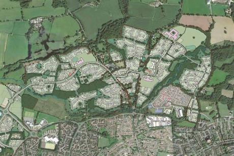 Northern Arc, Burgess Hill: approved this year