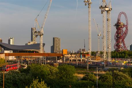 The Queen Elizabeth Olympic Park (pic: Getty)