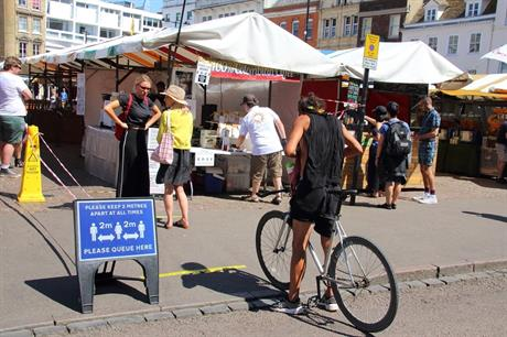 Outdoor markets: planning rules eased. Pic: Getty Images