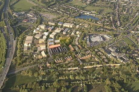 A visualisation of the finished Oxford North scheme (pic: Thomas White (Oxford) Ltd)